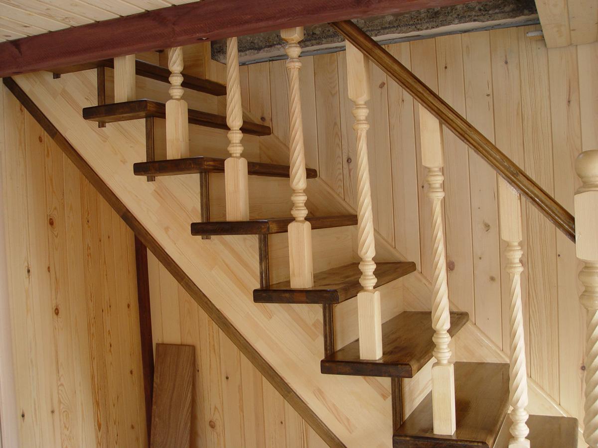 Лестницы деревянные на второй своими руками